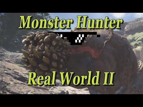 Monster Hunter Real World II (Funny Moment) thumbnail