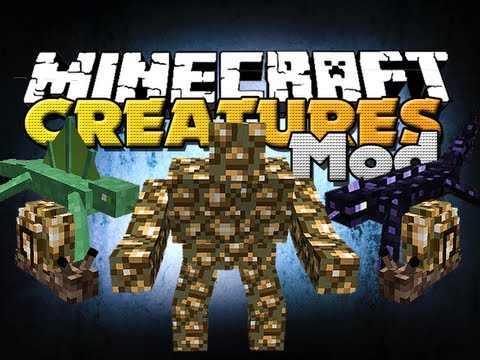 Minecraft Mods - Angry Creatures Mod - New Mobs And Weapons!!