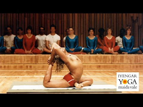 BKS Iyengar - Barbican Demonstration 1984