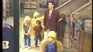 Steven Schub Flaps With The Bird-keteers on Sesame Street.