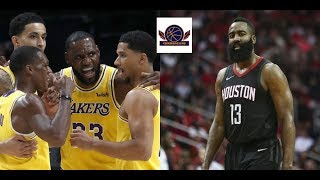 James Harden (Rockets) scored 50pts shook the Lakers 13-12-2018