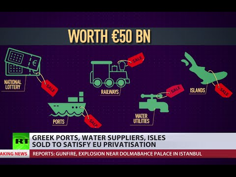 Greek infrastructure goes on sale as Germany approves €86 bn bailout