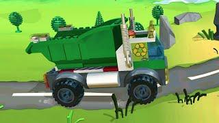 Мультик про машинки.Грузовая машинка Краз.Детские мультики про машинки.Игры лего про машинки.#Лего