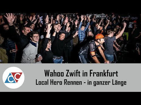 Local Hero Rennen Zwift Wahoo Frankfurt