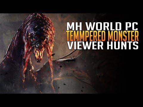 Monster Hunter World PC - Tempered Monster Viewer Hunts & Challenges - 3pseatk8Jrp