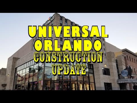 Universal Orlando Resort Construction Update 2.12.17 Fallon, Furious, & Mardi Gras Highlights!