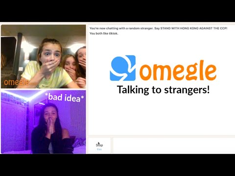 I Went On Omegle By Myself *first Time*