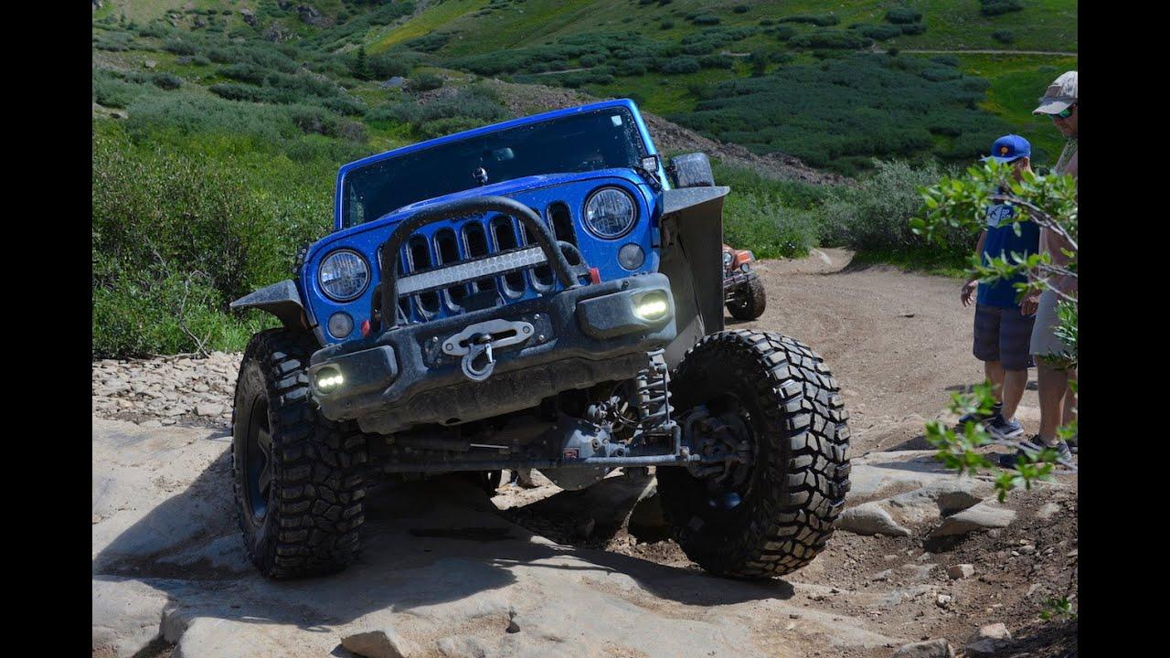 Jeep Wrangler Rubicon >> Poukeepsie Gulch - Ouray Colorado - 4 Wheeling - Jeep Wrangler Rubicon - YouTube
