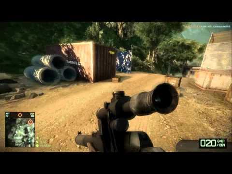 [HD] Battlefield Bad Company 2 - Laguna Presa Rush Attack - Ninja Recon With Commentary
