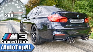 BMW M3 F80 Competition ACCELERATION & TOP SPEED 0-288km/h DRAGY GPS by AutoTopNL