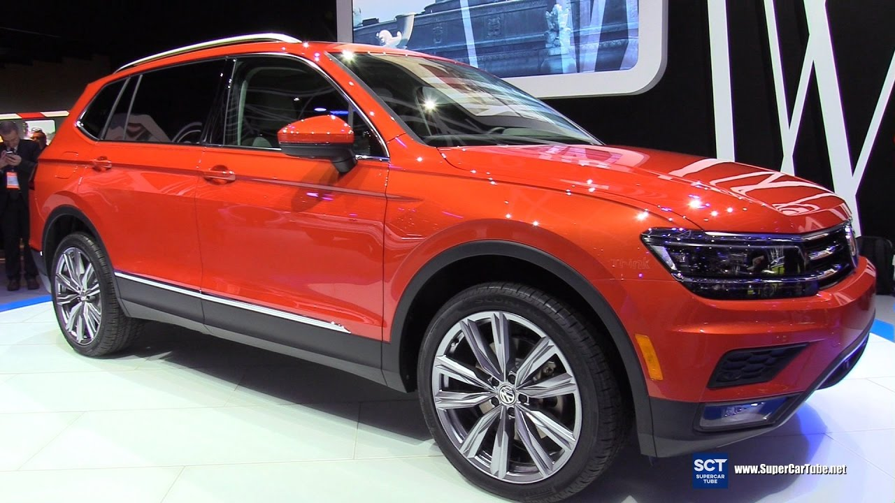 2018 volkswagen tiguan sel. Interesting Sel 2018 Volkswagen Tiguan SEL TSI 4Motion  Exterior Interior Walkaround  Debut At 2017 Detroit Auto YouTube On Volkswagen Tiguan Sel G