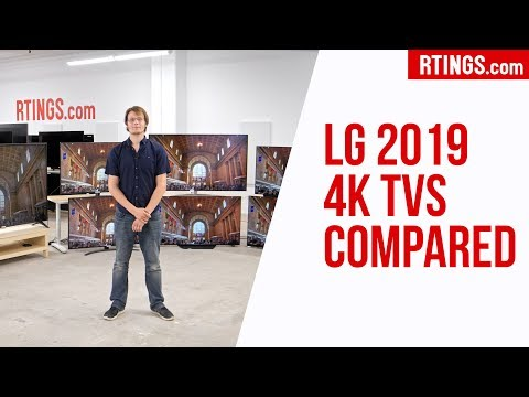 All LG 2019 4k TVs Compared – RTINGS.com