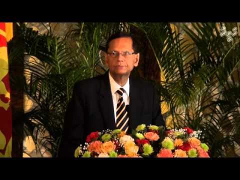 Joint press conference about President Rajapaksa's visit to Maldives