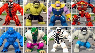 All Big Fig Character in LEGO Marvel Super Heroes 2