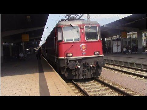 Singen (Hohentwiel) mit thurbo - FLIRT (seehas) - SBB Re 4/4 II - ET 426 - DoSto-IRE