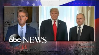 Sen. Jeff Flake speaks out on Trump-Putin news conference thumbnail