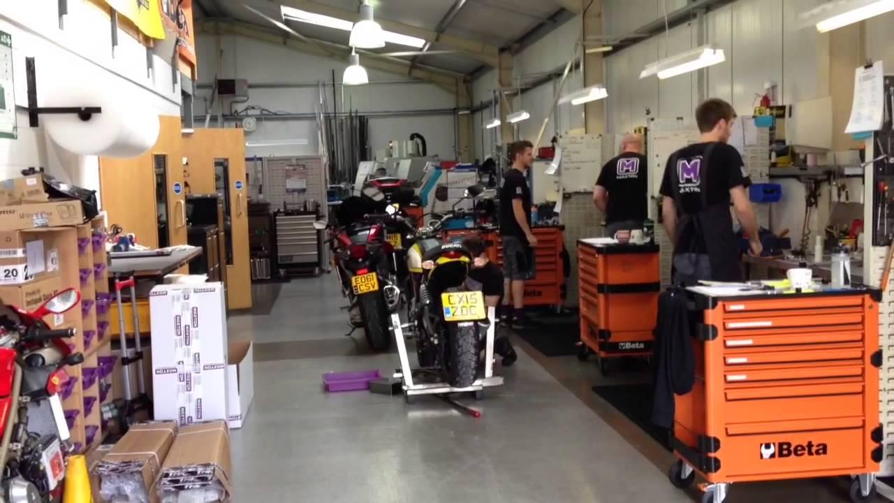 Maxton Suspension Ducati Scrambler