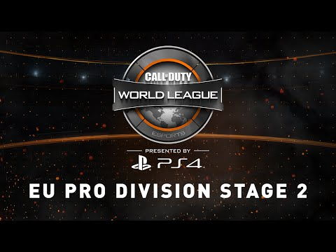 Week 3 Stage 2 [5/4]: Europe Pro Division Live Stream - Official Call of Duty® World League