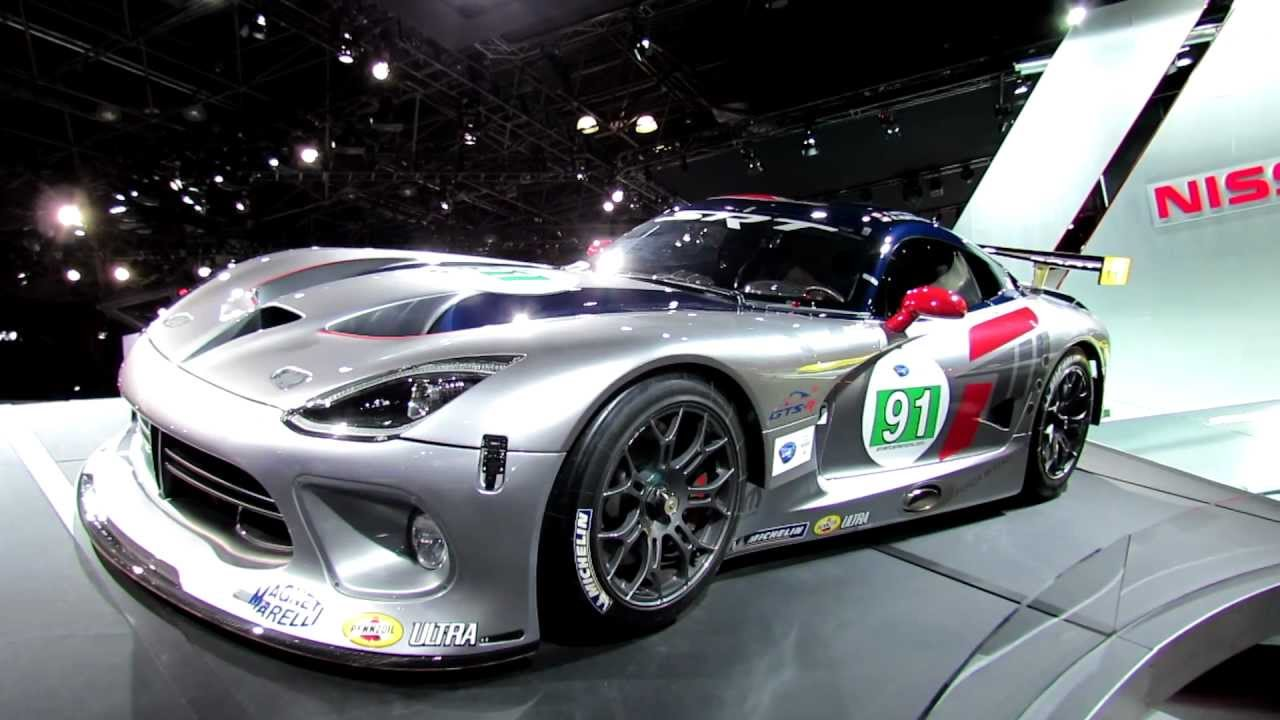 2013 Dodge Srt Viper Gts R Race Car Exterior At 2012 New