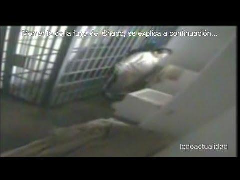 El Chapo Guzmán escapando de la Cárcel