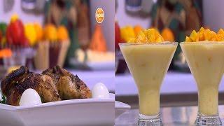دجاج بالأعشاب - كرات البطاطس بالبيض المسلوق - معجنات بحشوة السبانخ والجبنة   على قد الإيد حلقة كاملة