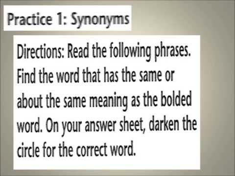 ESL, 10 Synonyms Quiz For Intermediate Or Advanced, Damien Zellers
