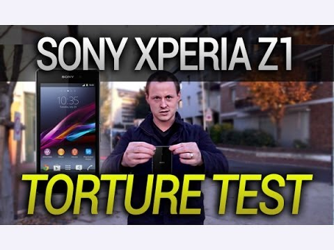 sony-xperia-z1,-test-de-résistance-(scratch-test-drop-test)