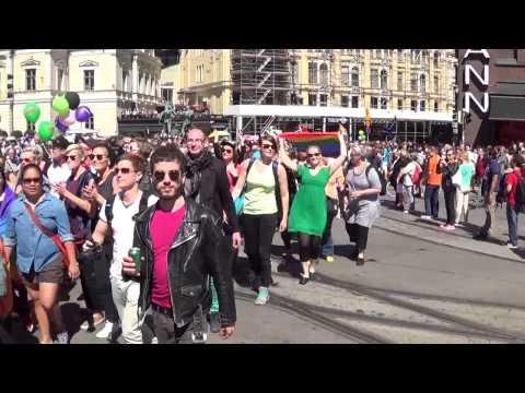HELSINKI PRIDE 2014-THE PARADE