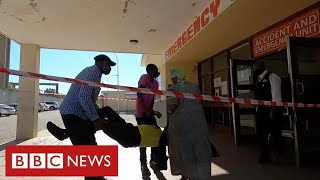 South Africa endures coronavirus crisis as health services collapse  - BBC News
