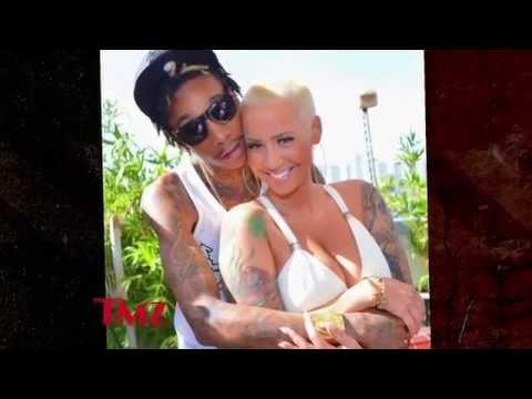 The Amber Rose - Wiz Khalifa divorce is getting nasty!!!