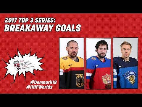 2017 Top-3 Series: Breakaway Goals - #IIHFWorlds 2018 - 동영상
