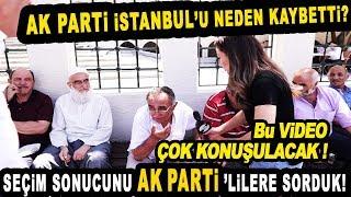 AK Partililer Kaybedilen Seçim İçin Neler Söyledi? Kimi Sorumlu Tuttu? Çok Konuşulacak Röportaj!