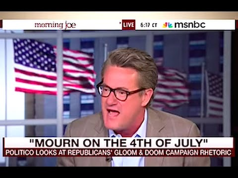 Joe Scarborough Blows Up In