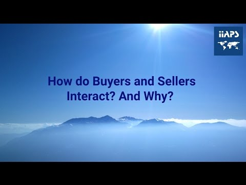 How do Buyers and Sellers Interact? And Why?