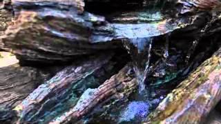 Alpine Teton Waterfall Fountain - Product Review Video