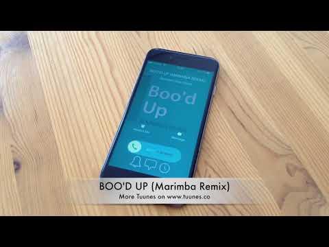 Boo'd Up Ringtone - Ella Mai Tribute Marimba Remix Ringtone - iPhone & Android Download