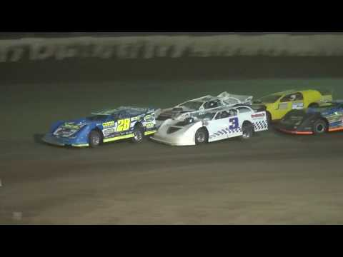 7th Annual Bill Waite Jr. Memorial Classic Late Model B-Main LaSalle Speedway 9/24/17