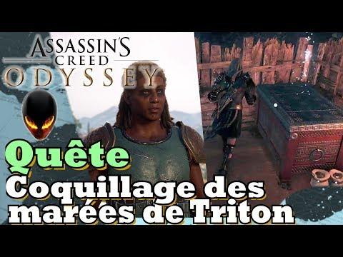 ASSASSIN'S CREED ODYSSEY Quête : Coquillage des marées de Triton / Localisation
