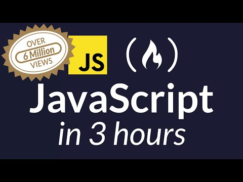 Learn JavaScript - Full Course for Beginners
