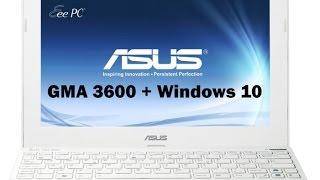 GMA 3600 Windows 10
