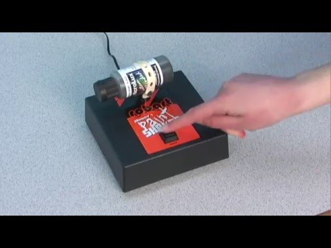 Micro-Mark #27162 Paint Shaker In Action