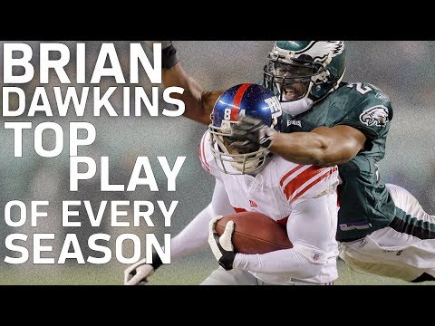Brian Dawkins' Top Play from Every Season | NFL Highlights