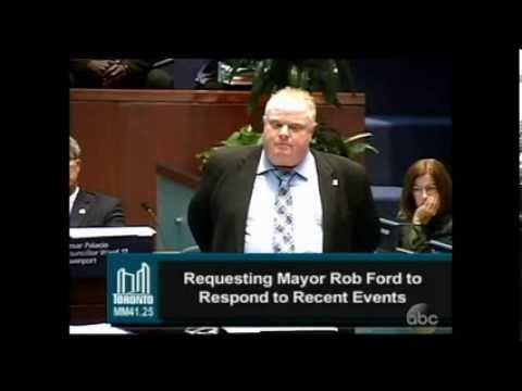 Rob Ford ... Have You Purchased Illegal Drugs?