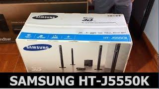 описание домашнего кинотеатра Samsung HT-J5550K