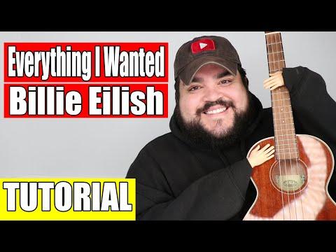 EVERYTHING I WANTED - BILLIE EILISH   EASY UKULELE TUTORIAL