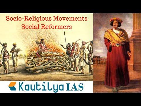 SOCIO RELIGIOUS MOVEMENTS