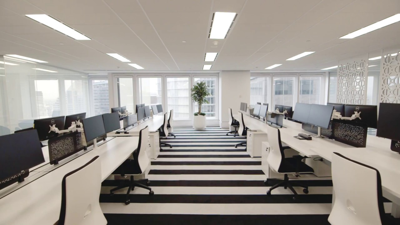 Andrew Loader Design Commercial Office Interiors - YouTube