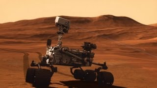 Liz meets the Mars Curiosity Rover