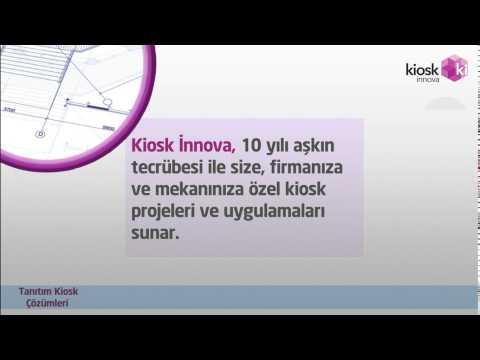 Kiosk Innova Tanıtım Çözümleri