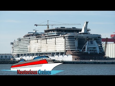 Harmony of the Seas : Full construction time-lapse by STX France